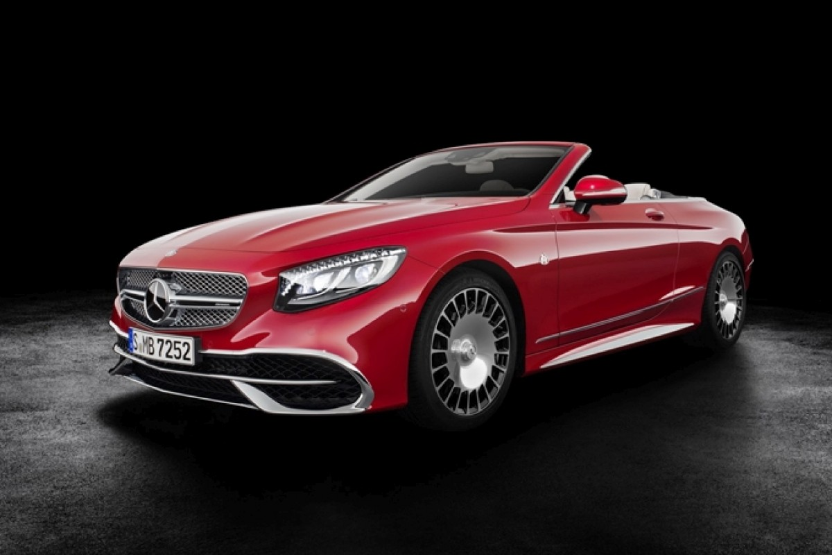 Mercedes S650 Cabriolet Maybach