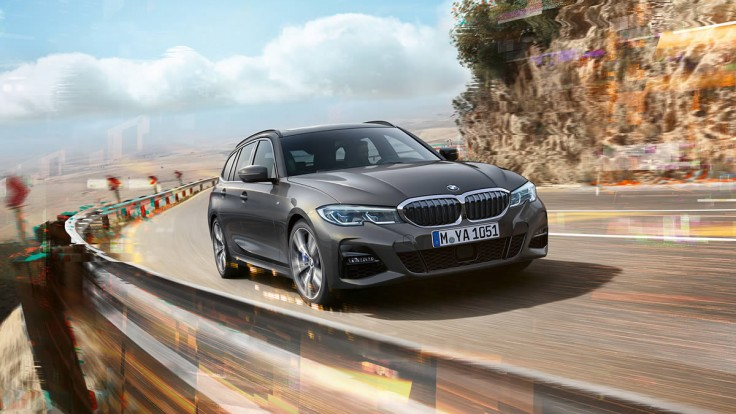 BMW SERIES 3 SW 320d Mh48v Business Adv. Touring Auto